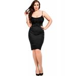 073 Lined Ivory Lace Bodysuit Plus Size S-8XL 8-28uk